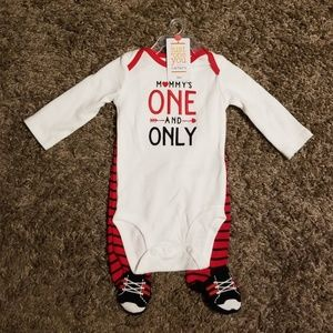 """Carter's """"Mommy's One and Only"""" Bodysuit Set"""